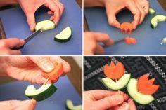 Oranje tulpen om op te eten! | 101woonideeen.nl