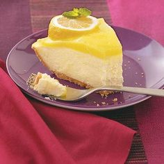 Layered Lemon Pie - This, only with the easy microwave lemon curd recipe I pinned earlier and real whipped cream.