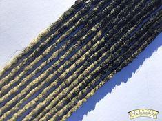 Black to Blonde DE x6 Crochet Synthetic Dreads  accent