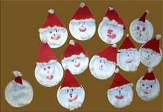 Tinkering with paper plates is one of the most popular tinkering methods even for the pre-Christmas Mini Christmas Tree, Christmas Wishes, Christmas Angels, Christmas Crafts, Christmas Decorations, Christmas Ornaments, Toddler Crafts, Crafts For Kids, Arts And Crafts