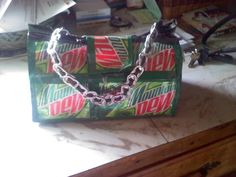 Pop Can Purse made this my senior year of high school