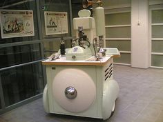 """Bonk Industries Atomic Telemotion    This machine made by the Finnish artist Alvar Gullichsen supposedly """"harnesses the Power of the Cosmos"""" and """"turns negative emotions into briquets of """"Canned Hate"""" """"."""