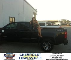 https://flic.kr/p/z1VDDM | Happy Anniversary to Meagan on your #Chevrolet #Colorado from david Maynard at Huffines Chevrolet Lewisville | deliverymaxx.com/DealerReviews.aspx?DealerCode=UBM1
