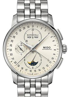 Baroncelli Chronograph Moonphase : Mido : 42mm