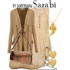 Sarabi, created by lalakay on Polyvore #disney
