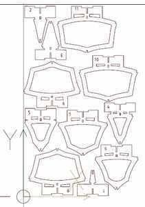 Baby Gar Sheet 2 Model Ship Building, Boat Building Plans, Model Boat Plans, Diy Boat, Canoe And Kayak, Model Ships, Kayaking, 3d Puzzles, How To Plan