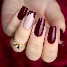 Prom Nails, My Nails, Matte Nails, Nail Swag, French Nails, Elegant Nail Art, Nailed It, Nail Designer, Nagellack Trends