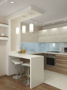 10 Styles Perfect for the small kitchen # Kitchen Faucets # Kitchen Lighting # Kitchen . - Home sweet Home - # for # kitchen . Kitchen Room Design, Kitchen Cabinet Design, Modern Kitchen Design, Kitchen Layout, Home Decor Kitchen, Interior Design Kitchen, Kitchen Furniture, Home Kitchens, Kitchen Ideas