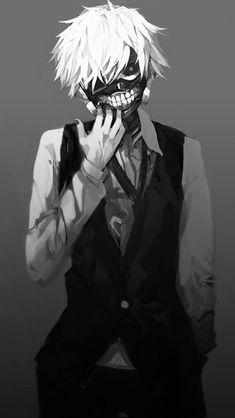 anime handsome guy white and black - Cerca amb Google