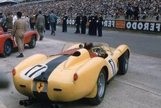 1958 Ferrari 250 TR At Le Mans