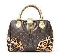 louis vuitton leopard purse | Louis Vuitton Monogram Leopard Canvas Adele Ed Stephen Sprouse Bag ...