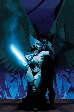 Psylocke and Archangel by Esad Ribic #XMen #XForce #Mutants
