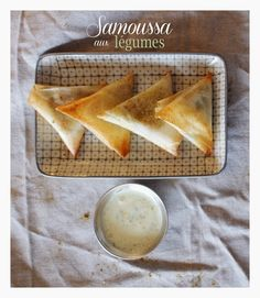 ~ Eat & tea ~: Samoussa aux légumes   Sauce à la coriandre