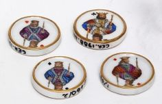 Whist Counters, late 18th/early 19th century