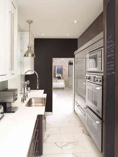 Contemporary Kitchen Photos Galley Kitchen Design, Pictures, Remodel, Decor  And Ideas Part 57