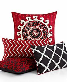 Mix it up INC #bedding #pillows #ikat #decor #decorative #macys BUY NOW!