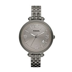 Fossil Heather Stainless Steel Watch - Smoke
