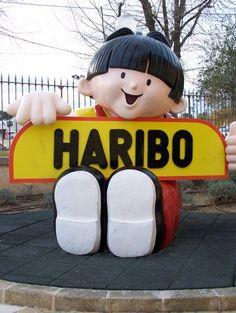 Musée du bonbon Haribo à Uzés  Haribo museum in Uzés