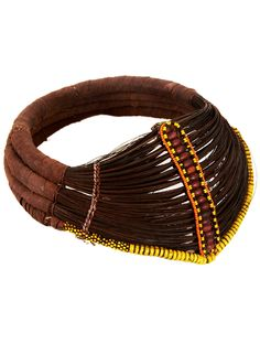 Kenya   Necklace from the Rendille people   Palm fiber, wire and glass beads   20th century   800£