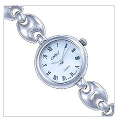 Silver Watch, Round by UK Gems Expensive Watches, Most Expensive, Pocket Watch, Bracelet Watch, Gems, Bracelets, Silver, Accessories, Amazon