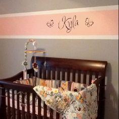My baby girl's bedroom