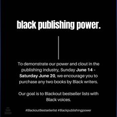 Please READ all tiles (swipe)! June 14-20 publishers are helping to put #blackauthors in the top spots! ⚫️ Repost @thecookinggene #blackbooks #blackbookstagram #blackoutbestsellerlist Books By Black Authors, Black Books, Instagram Live Stories, Nyt Bestseller, African American Literature, Anti Racism, Nonfiction, Best Sellers, The Book