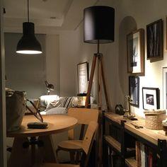 piyohopさんの、額,ソファー,男前,ランタン,無印良品,ライティング,無垢,ソファ,ポスター,照明,My Shelf,のお部屋写真