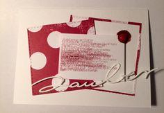 papierZART : Zauber, Stanze Zauber KbD-AR-Ty000, Alexandra Renke Kärtchenbogen, Karte, Gmund Papier