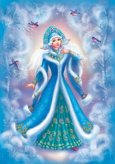 Snegurochka - Snow Maiden – Russian Winter and New Year character