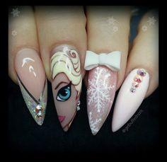Let it go Let it go ❄️❄️ Frozen Nails  By: @getbuffednails ----------------------------------------------------------#nails #nail #fashion #style #anastasiabeverlyhills #cute #beauty #beautiful #instagood #pretty #girl #girls #stylish #sparkles #styles #gliter #nailart #frozen #opi #photooftheday #essie #unhas #preto #branco #princesselsa #disneynails #elsa #frozen #frozennails