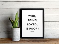 Hey, I found this really awesome Etsy listing at https://www.etsy.com/listing/190345883/who-being-loved-is-poor-oscar-wilde