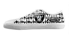 BUCH Vintage Gorgeous NFL Oakland Raiders Men's Canvas Shoes Lace-up Low-top Sneakers Canvas Shoes BUCH http://www.amazon.com/dp/B00ZU8Q394/ref=cm_sw_r_pi_dp_w0EGvb1VHM7QX