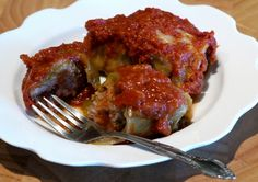Sweet & Sour Cabbage Rolls  Tomato soup is used as the sauce base, it just works! It's EASY