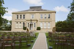 Outdoor Wedding Ceremony at Tullyveery House County Down Northern Ireland