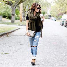 "2,556 Likes, 57 Comments - Stella & Dot (@stelladot) on Instagram: ""Fall Fashion Pro @jillian.harris rocking our gray Waverly // love spotting #stelladotstyle on one…"""