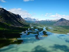 Rapa Valley in Sarek National Park, Sweden