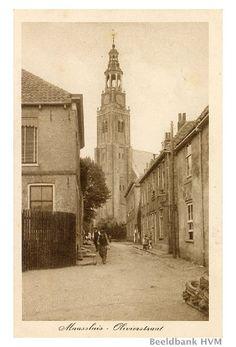 de grote Kerk op het Schanseiland, gezien vanuit de Olivierstraat