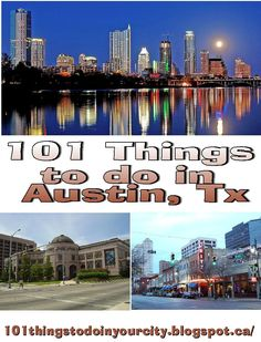 101 Things to Do...: 101 Things to Do in Austin, Tx