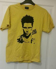 Fight Club T shirt Tyler Durden Brad Pitt
