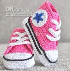 2015 Promotion Real Newborn Baby Girl Baby Crochet Sneakers Tennis Booties Infant Sport Shoes Cotton 0-12m Size 16pairs/lot
