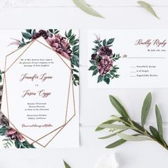 Vivid weddings - attain recommendations from this unique weddings. Wedding Invitation Card Design, Elegant Wedding Invitations, Bridal Shower Invitations, Event Planning, Wedding Planning, Wedding Ideas, Geometric Wedding, Reception Card, Response Cards
