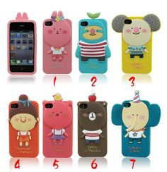 Hot Momo's Blog 3D Romane Soft Silicone Case Cover for iPhone 4/4S/5