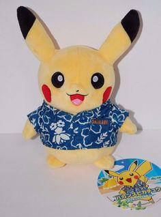 Japan Pokemon Vacances Pikachu Doll Okinawa limited  F/S