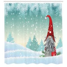 Traditional scandinavian christmas gnome named Tomte standing in winter landscape christmas motive, vector illustration, eps 10 with transparency Christmas Gnome, Outdoor Christmas, Christmas Art, Christmas Themes, Christmas Wreaths, Christmas Decorations, Christmas Ornaments, Christmas Quotes, Scandinavian Gnomes