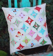TUTORIAL:  cathedral windows pillow
