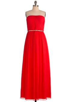 The Local Muse Dress in Red