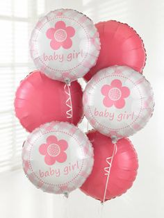 Baby Girl Balloon Bouquet Order Balloons Online Delivery Next Day