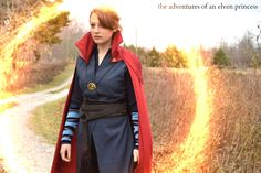 The Adventures of An Elven Princess: Doctor Strange Cosplay - The Photoshoot Epic Cosplay, Cosplay Ideas, Costume Ideas, Female Marvel Cosplay, Gender Bend Cosplay, Elven Princess, Doctor Stranger, Marvel Costumes, Lets Play A Game