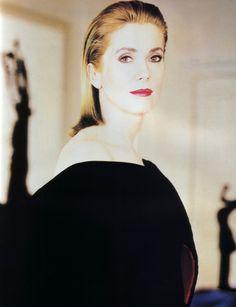 Catherine Deneuve, Elle magazine, May 1988.