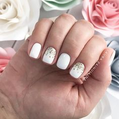 A bride should look ideal to the tips of her nails. That's why we have collected the trendiest and the most elegant ideas of your wedding manicure. Choose from our incredible collection and find a perfect match for you. #nails #nailart #naildesign #weddingnails